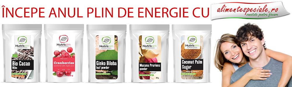 Alimente pline de energie