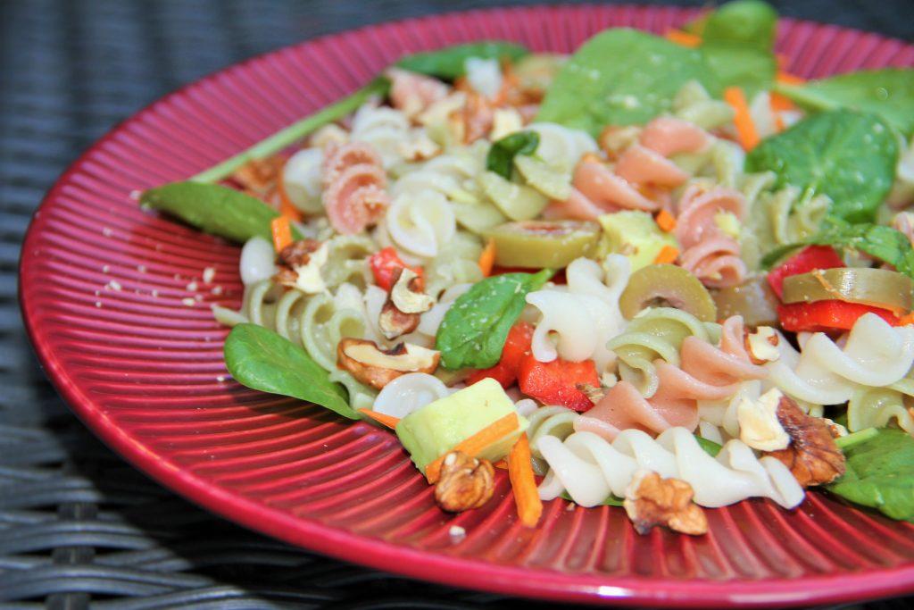 Salata rece de paste din orez