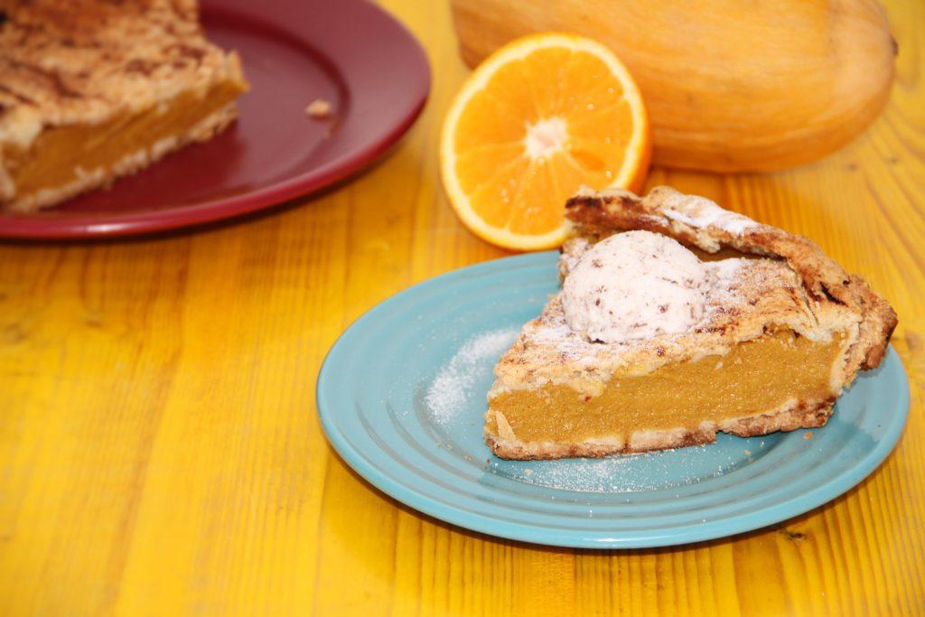 Tarta de dovleac si portocala fara gluten